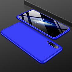 Coque Plastique Mat Protection Integrale 360 Degres Avant et Arriere Etui Housse pour Samsung Galaxy A50 Bleu