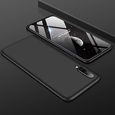 Coque Plastique Mat Protection Integrale 360 Degres Avant et Arriere Etui Housse pour Samsung Galaxy A50 Noir