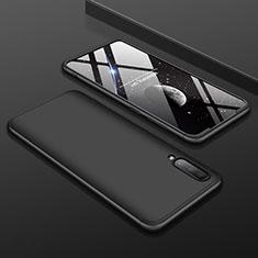 Coque Plastique Mat Protection Integrale 360 Degres Avant et Arriere Etui Housse pour Samsung Galaxy A70 Noir