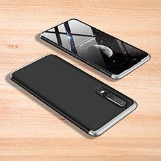 Coque Plastique Mat Protection Integrale 360 Degres Avant et Arriere Etui Housse pour Xiaomi Mi 9 Argent