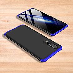 Coque Plastique Mat Protection Integrale 360 Degres Avant et Arriere Etui Housse pour Xiaomi Mi 9 Pro 5G Bleu et Noir
