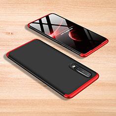 Coque Plastique Mat Protection Integrale 360 Degres Avant et Arriere Etui Housse pour Xiaomi Mi 9 SE Rouge et Noir