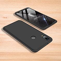 Coque Plastique Mat Protection Integrale 360 Degres Avant et Arriere Etui Housse pour Xiaomi Mi Play 4G Noir