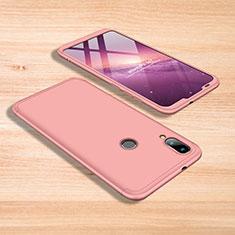 Coque Plastique Mat Protection Integrale 360 Degres Avant et Arriere Etui Housse pour Xiaomi Mi Play 4G Rose