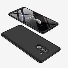Coque Plastique Mat Protection Integrale 360 Degres Avant et Arriere Etui Housse pour Xiaomi Pocophone F1 Noir