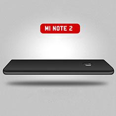 Coque Plastique Mat Protection Integrale 360 Degres Avant et Arriere pour Xiaomi Mi Note 2 Special Edition Noir