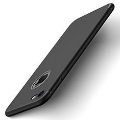 Coque Plastique Rigide avec Trou Mat pour Apple iPhone 8 Noir
