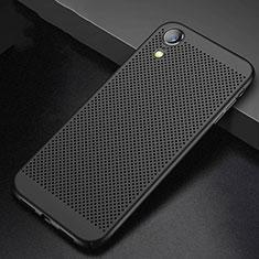 Coque Plastique Rigide Etui Housse Mailles Filet pour Apple iPhone XR Noir