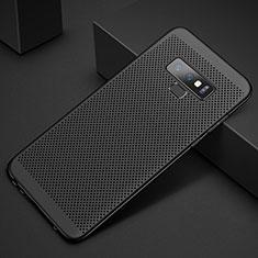 Coque Plastique Rigide Etui Housse Mailles Filet pour Samsung Galaxy Note 9 Noir