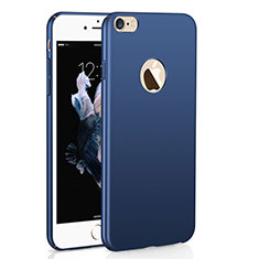 Coque Plastique Rigide Etui Housse Mat M01 pour Apple iPhone 6 Bleu