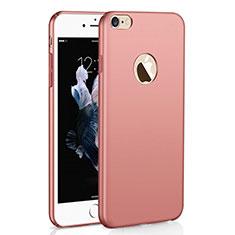 Coque Plastique Rigide Etui Housse Mat M01 pour Apple iPhone 6 Plus Or Rose