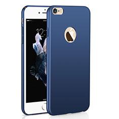 Coque Plastique Rigide Etui Housse Mat M01 pour Apple iPhone 6S Plus Bleu
