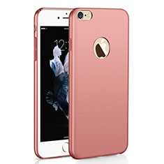 Coque Plastique Rigide Etui Housse Mat M01 pour Apple iPhone 6S Plus Or Rose