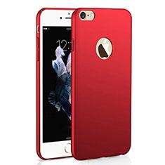 Coque Plastique Rigide Etui Housse Mat M01 pour Apple iPhone 6S Plus Rouge
