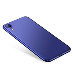Coque Plastique Rigide Etui Housse Mat M01 pour Apple iPhone XR Bleu