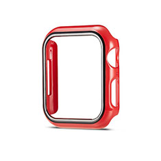 Coque Plastique Rigide Etui Housse Mat M01 pour Apple iWatch 5 40mm Rouge