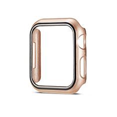 Coque Plastique Rigide Etui Housse Mat M01 pour Apple iWatch 5 44mm Or