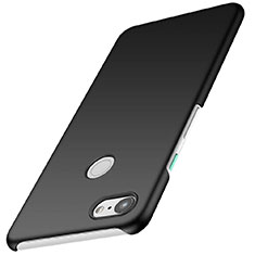 Coque Plastique Rigide Etui Housse Mat M01 pour Google Pixel 3 Noir
