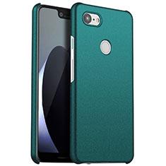 Coque Plastique Rigide Etui Housse Mat M01 pour Google Pixel 3 XL Vert