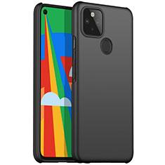 Coque Plastique Rigide Etui Housse Mat M01 pour Google Pixel 5 Noir