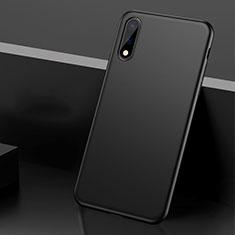 Coque Plastique Rigide Etui Housse Mat M01 pour Huawei Enjoy 10 Noir