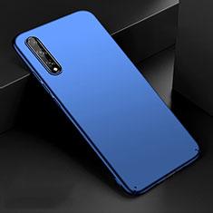 Coque Plastique Rigide Etui Housse Mat M01 pour Huawei Enjoy 10S Bleu