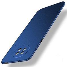 Coque Plastique Rigide Etui Housse Mat M01 pour Huawei Enjoy 20 Plus 5G Bleu