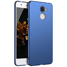 Coque Plastique Rigide Etui Housse Mat M01 pour Huawei Enjoy 7 Plus Bleu