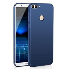 Coque Plastique Rigide Etui Housse Mat M01 pour Huawei Enjoy 7S Bleu