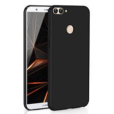 Coque Plastique Rigide Etui Housse Mat M01 pour Huawei Enjoy 7S Noir