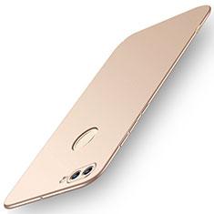 Coque Plastique Rigide Etui Housse Mat M01 pour Huawei Enjoy 8 Plus Or