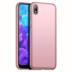 Coque Plastique Rigide Etui Housse Mat M01 pour Huawei Enjoy 8S Or Rose
