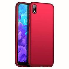 Coque Plastique Rigide Etui Housse Mat M01 pour Huawei Enjoy 8S Rouge