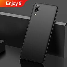 Coque Plastique Rigide Etui Housse Mat M01 pour Huawei Enjoy 9 Noir