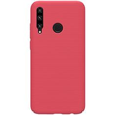 Coque Plastique Rigide Etui Housse Mat M01 pour Huawei Enjoy 9s Rouge