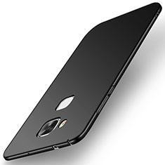 Coque Plastique Rigide Etui Housse Mat M01 pour Huawei G7 Plus Noir