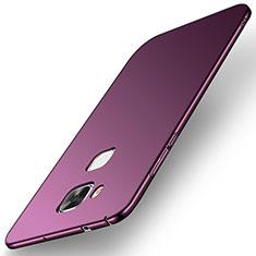 Coque Plastique Rigide Etui Housse Mat M01 pour Huawei G8 Violet