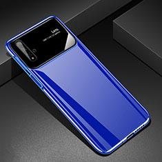 Coque Plastique Rigide Etui Housse Mat M01 pour Huawei Honor 20 Bleu