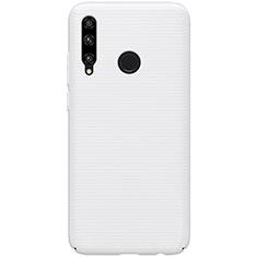 Coque Plastique Rigide Etui Housse Mat M01 pour Huawei Honor 20 Lite Blanc