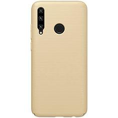 Coque Plastique Rigide Etui Housse Mat M01 pour Huawei Honor 20i Or