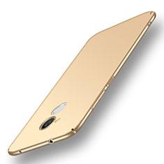 Coque Plastique Rigide Etui Housse Mat M01 pour Huawei Honor 6A Or