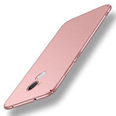 Coque Plastique Rigide Etui Housse Mat M01 pour Huawei Honor 6A Rose