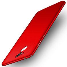 Coque Plastique Rigide Etui Housse Mat M01 pour Huawei Honor 6A Rouge