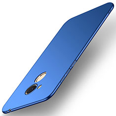 Coque Plastique Rigide Etui Housse Mat M01 pour Huawei Honor 6C Pro Bleu
