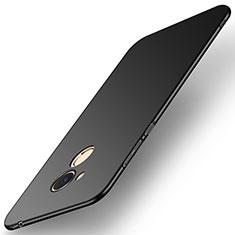 Coque Plastique Rigide Etui Housse Mat M01 pour Huawei Honor 6C Pro Noir
