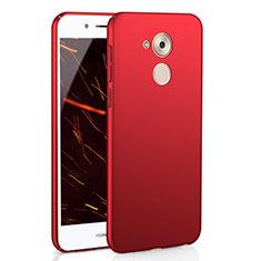 Coque Plastique Rigide Etui Housse Mat M01 pour Huawei Honor 6C Rouge