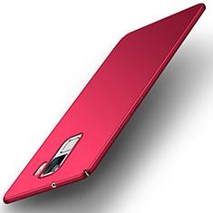 Coque Plastique Rigide Etui Housse Mat M01 pour Huawei Honor 7 Dual SIM Rouge