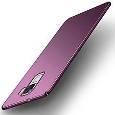 Coque Plastique Rigide Etui Housse Mat M01 pour Huawei Honor 7 Dual SIM Violet