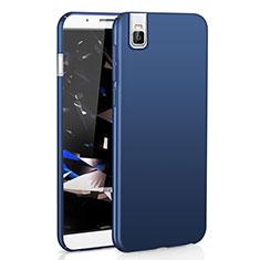 Coque Plastique Rigide Etui Housse Mat M01 pour Huawei Honor 7i shot X Bleu