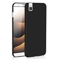 Coque Plastique Rigide Etui Housse Mat M01 pour Huawei Honor 7i shot X Noir